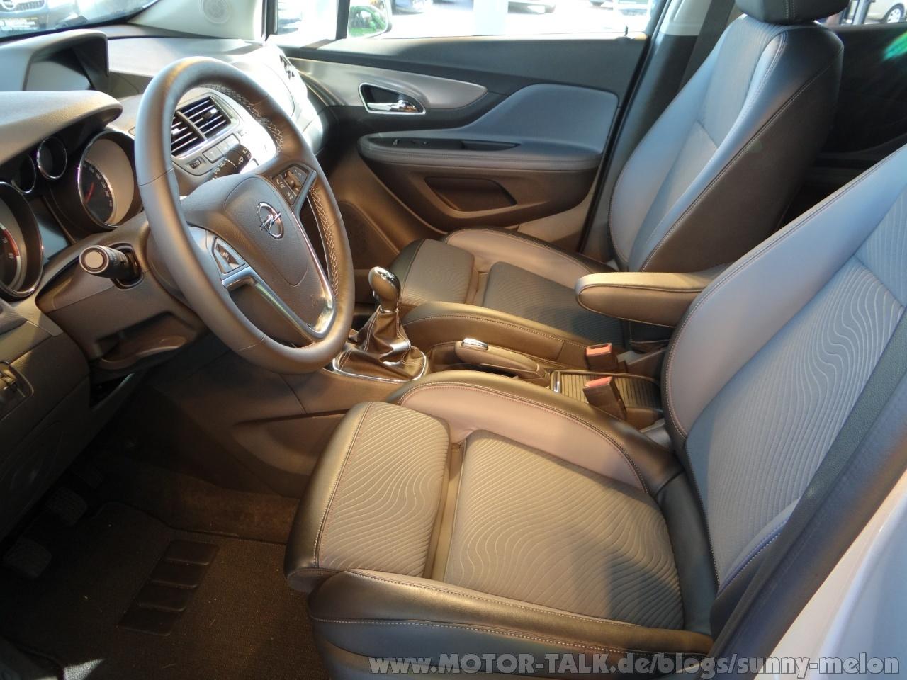 Sitzh heneinstellung beifahrersitz jetzt serienm ig for Interieur opel mokka