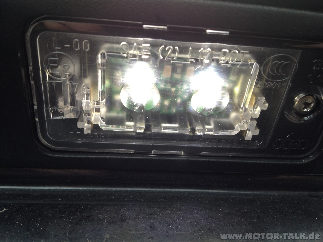 Plafoniera Targa Led Golf 7 : Installazione luci targa a led? [archivio] pagina 3 forum dell