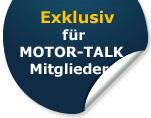 Sonderangebot für MOTOR-TALK Mitglieder