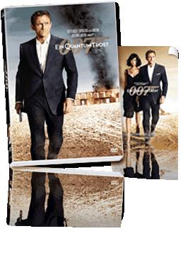 Eine James Bond DVD + Plakat
