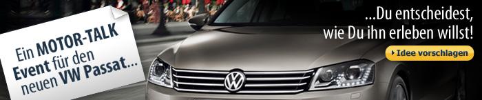 Du entscheidest, wie Du den neuen VW Passat erleben willst!