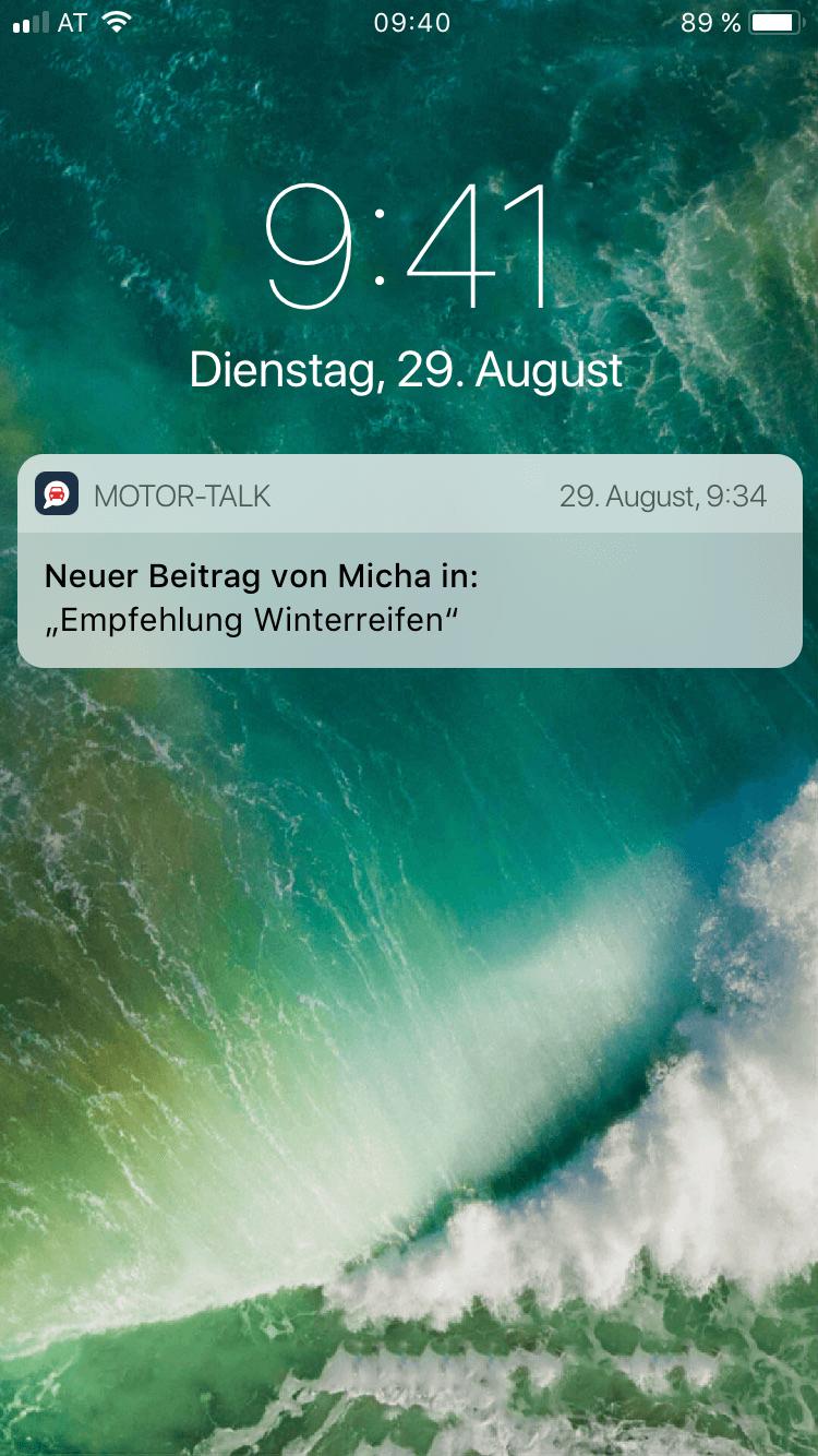 Motor-Talk App Screenshot