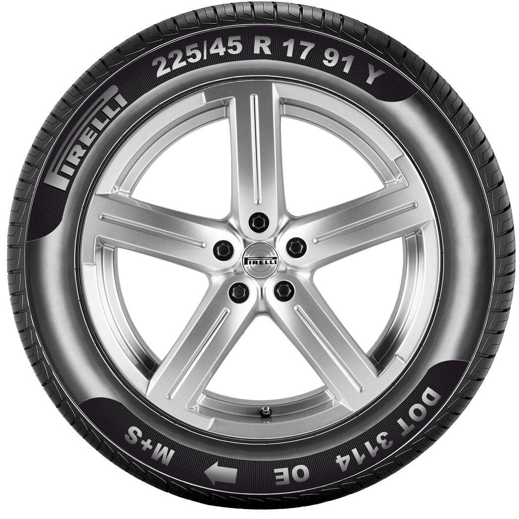 Pirelli Reifenmarkierung